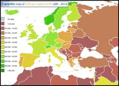 Map of World Happiness Index by country in Europe Economic Map, Economic Geography, World Happiness Index, Human Development Index, Golden Horde, Semitic Languages, Ethnic Diversity, Blue Green Eyes, Indian Language