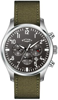 Rotary Watch Gents Strap D