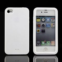 Touch Screen Full Body Coverage Protection Waterproof Case for IPhone 4 4S Silicone TPU Clear Cellphone Case Cover for IPhone 4S