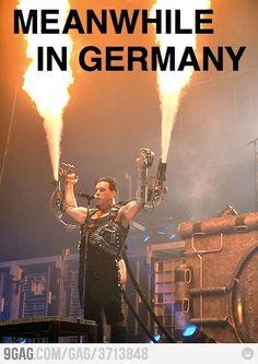 Till Lindemann of Rammstein Till Lindemann, Music Love, Music Is Life, Good Music, My Music, Music Pics, Music Stuff, Metallica, Heavy Metal