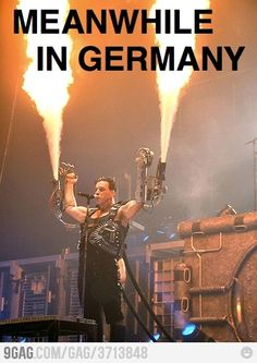 Germans are pure hardcore.