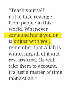 """Its just matter of time. Allah know ur """"niat"""". Ali Quotes, Quran Quotes, Quran Verses, Words Quotes, Revenge Quotes, Hadith Quotes, Sayings, Beautiful Islamic Quotes, Islamic Inspirational Quotes"""