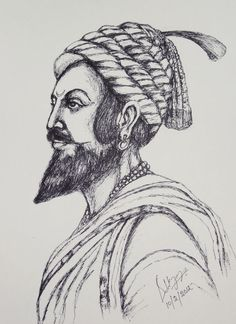 1000+ Images About CHATRAPATI SHIVAJI On Pinterest | Sketches Pen Sketch And Sketching