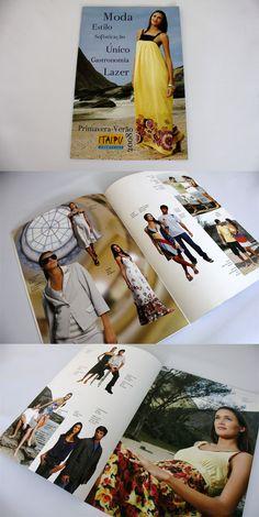 Catálogo de primavera/verão para o shopping Itaipu MultiCenter.