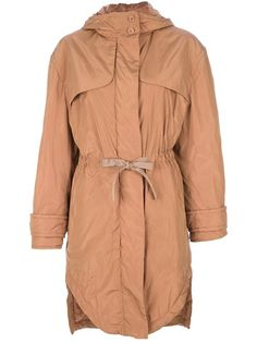 CARVEN Oversize Boxy Trench Coat