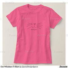 e85c241b74df8 Cat Whiskers T-Shirt Shoes Women