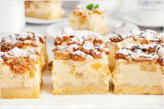 Sernik z ananasem - I Love Bake Krispie Treats, Rice Krispies, Cake Bars, Vanilla Cake, French Toast, Cheesecake, Baking, Breakfast, Impreza