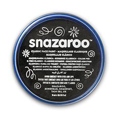 Great Group Halloween Costumes: The Addams Family - Snazaroo Classic Face Paint, 18ml, Black