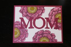 Naptime is Stamptime: A Mother's Day Card Using New Blendabilities! Stampin Up Blended Bloom