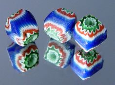 tiny 7 layer chevrons from Peru~