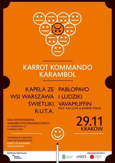 Karrot Kommando Karrambol 2014 - Poster
