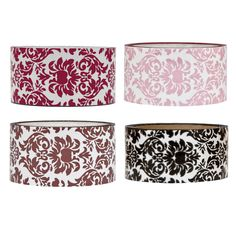 "Classy damask design.Design on clear tape.2"" x 27.5 yardsDOES NOT SHIP INTERNATIONAL"
