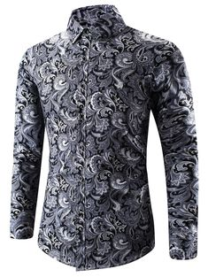 Cheap Fashion online retailer providing customers trendy and stylish clothing including different categories such as dresses, tops, swimwear. Long Sleeve Shirt Dress, Long Sleeve Shirts, Dress Shirts, Dress Tops, Women's Shirts, Style Casual, Men Casual, Cool Shirts For Men, Moda Formal