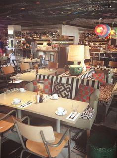 Un brunch au Mama Shelter Lyon Design Bar Restaurant, Deco Restaurant, Restaurant Ideas, Coffee Restaurants, Paris Restaurants, Saint Tropez, Bon Plan Lyon, Brunch Cafe, Live