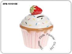 ceramic cupcake coin bank, best gift for girls
