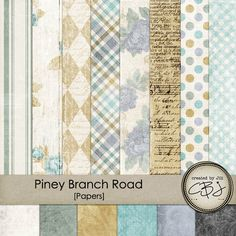 Piney Branch Road - Paper Pack By Created by Jill