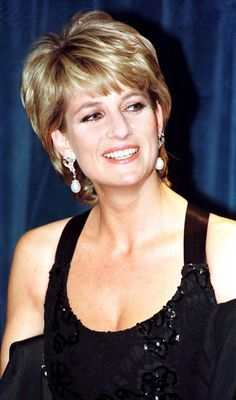 back of princess diana's hair - Google Search