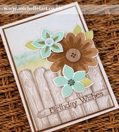 flower-patch from Stampin Up