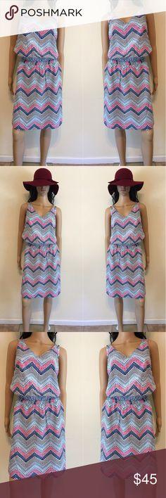 🌺 Gap Colorful Print Dress 🌺 Gap Colorful Print Dress GAP Dresses Midi