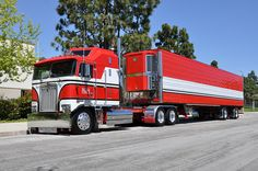 custom semi trucks | OWNBY TRUCKING - KENWORTH CAB-OVER-ENGINE BIG RIG TRUCK (18 WHEELER)