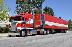 custom semi trucks | OWNBY TRUCKING - KENWORTH CAB-OVER-ENGINE BIG RIG TRUCK (18 WHEELER)