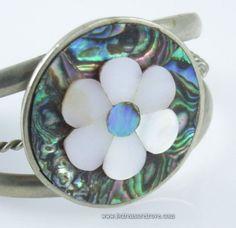 Vintage Cuff Bracelet Alpaca Silver with by bctreasuretrove, $22.00   #vjse2 #vintage #brides #jewelry