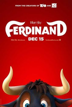 Blue Sky Studios and Century Fox have debuted the first trailer for FERDINAND directed by Carlos Saldanha (RIO) and starring the voice of John Cena! Ferdinand Movie, The Story Of Ferdinand, Ferdinand The Bulls, Gabriel Iglesias, Films Hd, Imdb Movies, 2017 Movies, Film 2017, Tv 2017