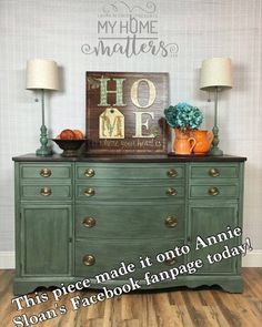 Super exited to share with you that this buffet was shared on Annie Sloan's Facebook fanpage today! Head over to my Facebook page (link in bio) to see it! . . . #furniture #painted #anniesloan #server #sideboard #sideboards #generalfinishes #unfolded #blackwax