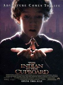 "A magic cupboard brings a boy's action figures to life! The Indian in question becomes an Iroquois with backstory including fighting in the French and Indian War and losing his wife as a battle casualty. By Yoda directed. The screenplay by Melissa Mathison (was married to ""Han,"" but went solo in 2004) adapts a novel."