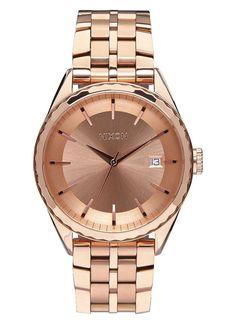 Nixon A934 897 Women's Minx Rose Gold Watch #Nixon