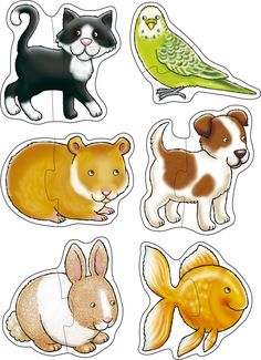 The Orchard Toys Pets is the perfect first puzzle as it consists of two pieces only and its large pieces are perfect for tiny hands. English Games For Kids, Math Games For Kids, Activities For Kids, Kids Math, Orchard Toys, Kindergarten, Preschool Printables, Retro Toys, Learning Activities