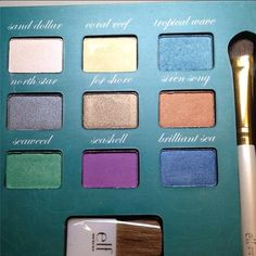 Snow and Ice Beauty Book swatches // ELF Disney Elsa Collection at ...