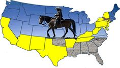 Miles Dean of the Black Heritage Riders rode across America to spread the word about Black Cowboys. Now that's a hero!