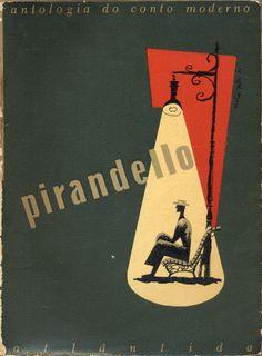 Luigi Pirandello, Antologia do Conto Moderno, Atlantida, 1953. Cover by Victor Palla.