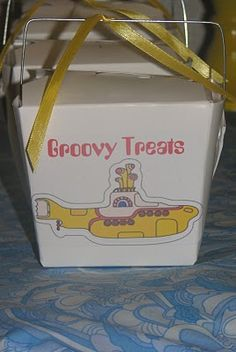 shoomie Occasions: Yellow Submarine 1st Birthday Party
