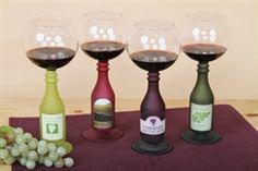 Wine Bottle Wine Glass #hiddentreasuresdecorandmore