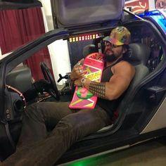 I want to be his shotgun rider!