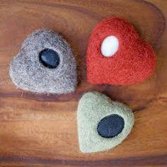 Wool covered rocks