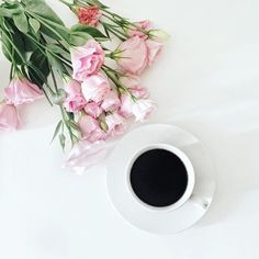 Coffee & flowers are just few of my favourite things. Enjoy your Sunday lovely people