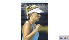 Angelique Kerber pulls rank at Dubai Duty…