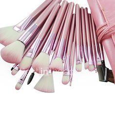 22 Brush Sets Nylonkwast / Synthetisch haar / Overige Gezicht / Lip / Oog 2017 - €13.37
