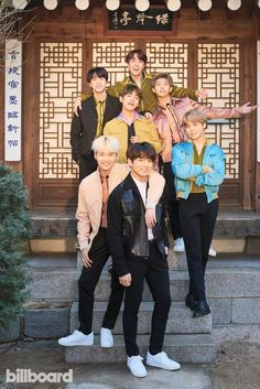 BTS billboard photo shoot