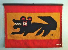 Modern Vintage Evelyn Ackerman Tapestry Mid Century Mexican Edmund Spence | eBay