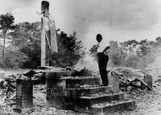 Fourth Black Church Burned September 17, 1962 Fourth Black church burned near Dawson, Georgia. Three white men later admitted burning the church. They were sentenced to seven-year prison terms.