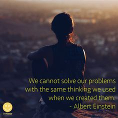 Solving problems quote