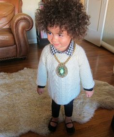 Monica Rose's Daughter May Just Be LA's Most Stylish Tot