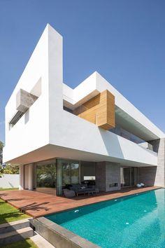 Villa C in Rabat by Elouardighi Mounir ~ Great pin! For Oahu architectural design visit http://ownerbuiltdesign.com
