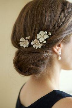 Peinados de novia otoño 2013 2014 con nudos espectaculares - Peinados para Bodas