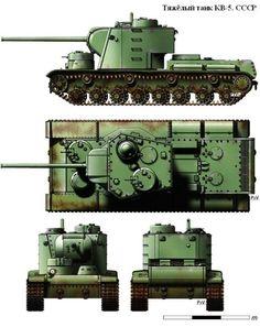 Танк КВ-5