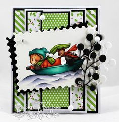 A World of Creative Possibilities: Kraftin' Kimmie Stamps : Lots of layers!